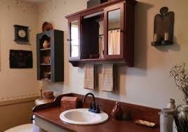 Country Primitive Bathroom Decor Bathroom Inspiration 3145