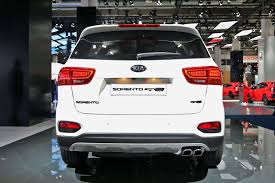 sorento gets sporty top spec gt line among 2017 kia suv updates