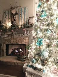 balsam hill christmas tree in metallics and turquoise aqua