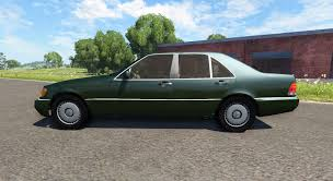 Benz S600 Amg For Beamng Drive