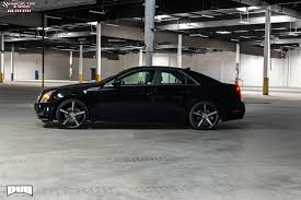 cadillac cts 22 inch rims cadillac cts dub lace s119 wheels black machined with tint