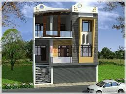 Commercial Floor Plans Free Residential Commercial Elevation 3d Front View Design