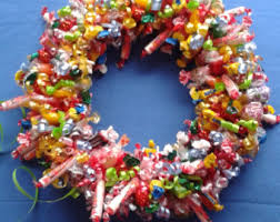 candy wreath candy wreath sugar free mint christmas gift edible unique
