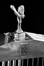 1986 rolls royce ornament 2 photograph by reger