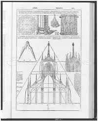 milan cathedral floor plan milan cathedral plan elevation and architectural elements from