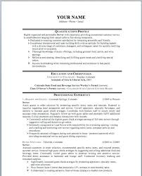 Food And Beverage Resume Template Resume Server Resume Sample Objective Host For Hostess Cover