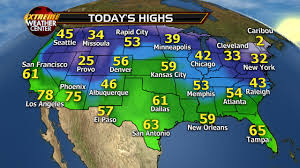Seattle Weather Map by Usa Todayshighs Pngjan18 Fox News Weather Blog
