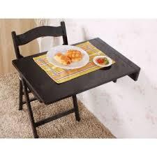 table murale de cuisine sobuy table murale pliante table de cuisine pour enfant noir 70