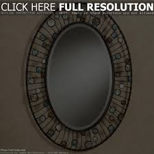 inexpensive oval wall mirrors vanity decoration