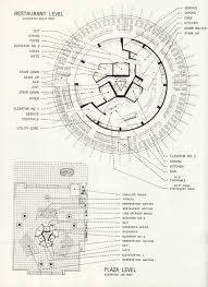 Architectural Plans Seattle Space Needle Round Buildings Pinterest Architectural