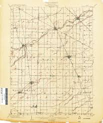 Akron Ohio Map Ohio Historical Topographic Maps Perry Castañeda Map Collection