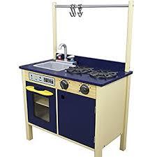 cuisine garcon teamson jeu de cuisine enfant en bois dinette bleu fille garçon td