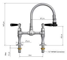 reach kitchen faucet steam valve original deck mount bridge faucets