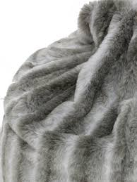 faux fur beanbag grey furniture hire all theme event prop hire