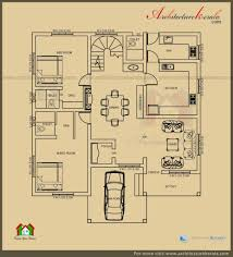 2400 square foot house plans house plan architecture kerala 2500 sq ft 3 bedroom house plan