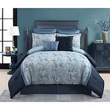 King Comforter Sets Blue Sears Bed In A Bag Comforter