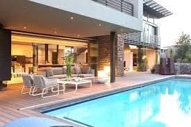 single floor house plans with indoor pool stunning modern plan