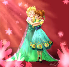 frozen wallpaper elsa and anna sisters forever sisters forever by blossom525 on deviantart