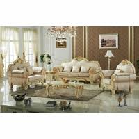antique style wing back sofa u0026 love seat french provincial living