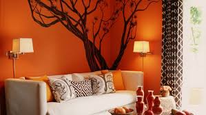orange color interior design bold ideas youtube