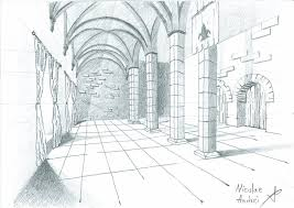 castle interior sketch by transplantfreak on deviantart