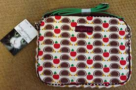 bungalow360 padded sleeve protect tablet canvas bag apples