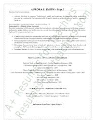 exle resume education 2 special education resume sle page 2 special