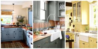 elle decor predicts the color trends for 2017 yellow kitchen