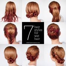 updos for curly hair i can do myself get ready fast with 7 easy hairstyle tutorials for wet hair hair