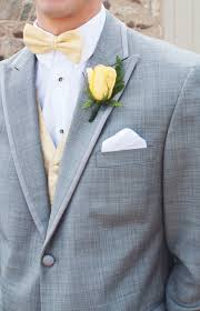 Country Style Wedding Tuxedos Groom Tux Yellow Accent Pictures Of Our Wedding Pinterest