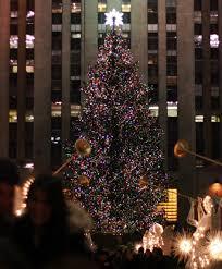 rockefeller center christmas tree pictures new york sightseeing