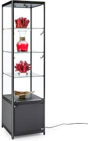 Display Cabinet With Lighting Glass Display Cabinets With Lights Amazing Glass Curio Cabinet