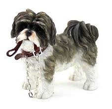 shih tzu ornament leonardo walkies shih tzu