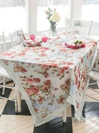 heirloom rose linen tablecloth linens u0026 kitchen tablecloths