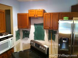 Installing Kitchen Tile Backsplash by Split Face Travertine Tile Backsplash The Diy Village