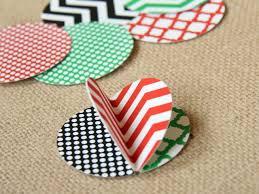 handmade modern ornament card hgtv