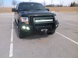 2013 f150 light bar 2013 ford f 150 with custom front bumper and led light bar 2009