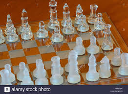glass chess set stock photos u0026 glass chess set stock images alamy