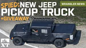 new jeep wrangler truck 2017 2019 jeep wrangler pickup truck to be named scrambler 3 0l v6