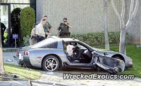 corvette test test driving this corvette was killed when she crashed into