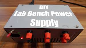 Dc Bench Power Supplies - diy lab bench power supply youtube