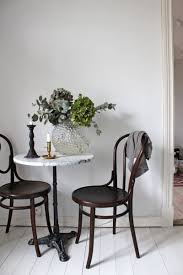 Kitchen Nook Table And Chairs by I U0027ve Always Wanted A Marble Cafe Table As Close As I U0027m Going To