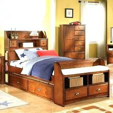 headboard bookcase full a headboard full size bed with bookcase