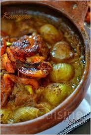 cuisine du maroc tajine aux oignons et tomate sucrés kamama cuisine du maroc et