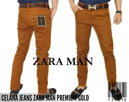 Celana Zara celana cowok gold zara rp160k size 28 34 informasi lebih