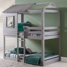 Bunk Beds Cheap Bedroom Furniture Girls Twin Bed Bunk Bed With Slide Kids