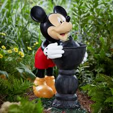 disney mickey taking a drink outdoor living outdoor