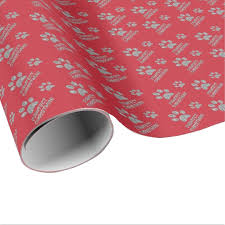 silver glitter wrapping paper christmas gift wrap paper dogs silver glitter zazzle