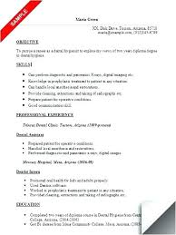 Resume Objective Statement - dental assistant resume objectives best solutions of dental