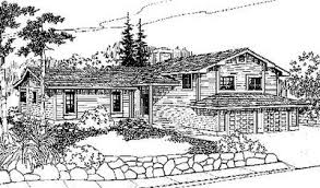 Sloping Lot House Plans Contemporary Sloping Lot House Plan 77133ld Architectural